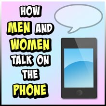 How Men and Women Talk on the Phone by C-Section Comics